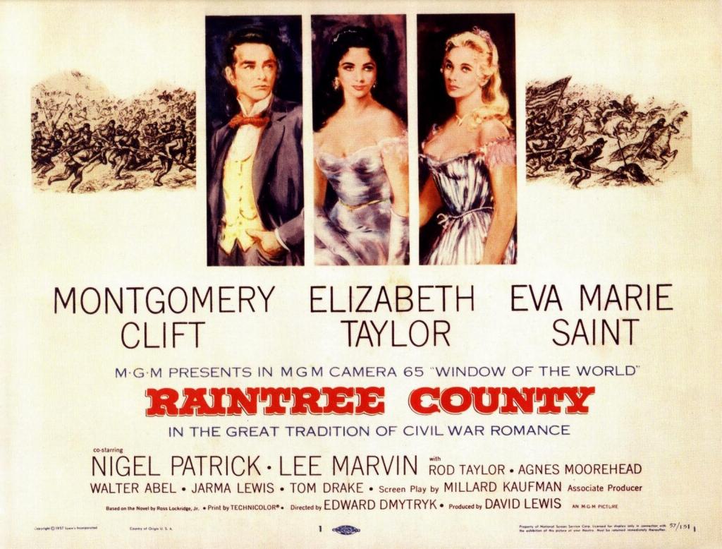 Poster - Raintree County